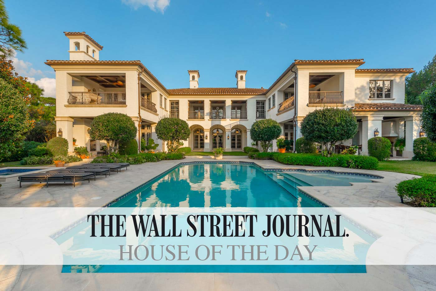 Wall street journal house of the day the bears club for Wall street journal mansion
