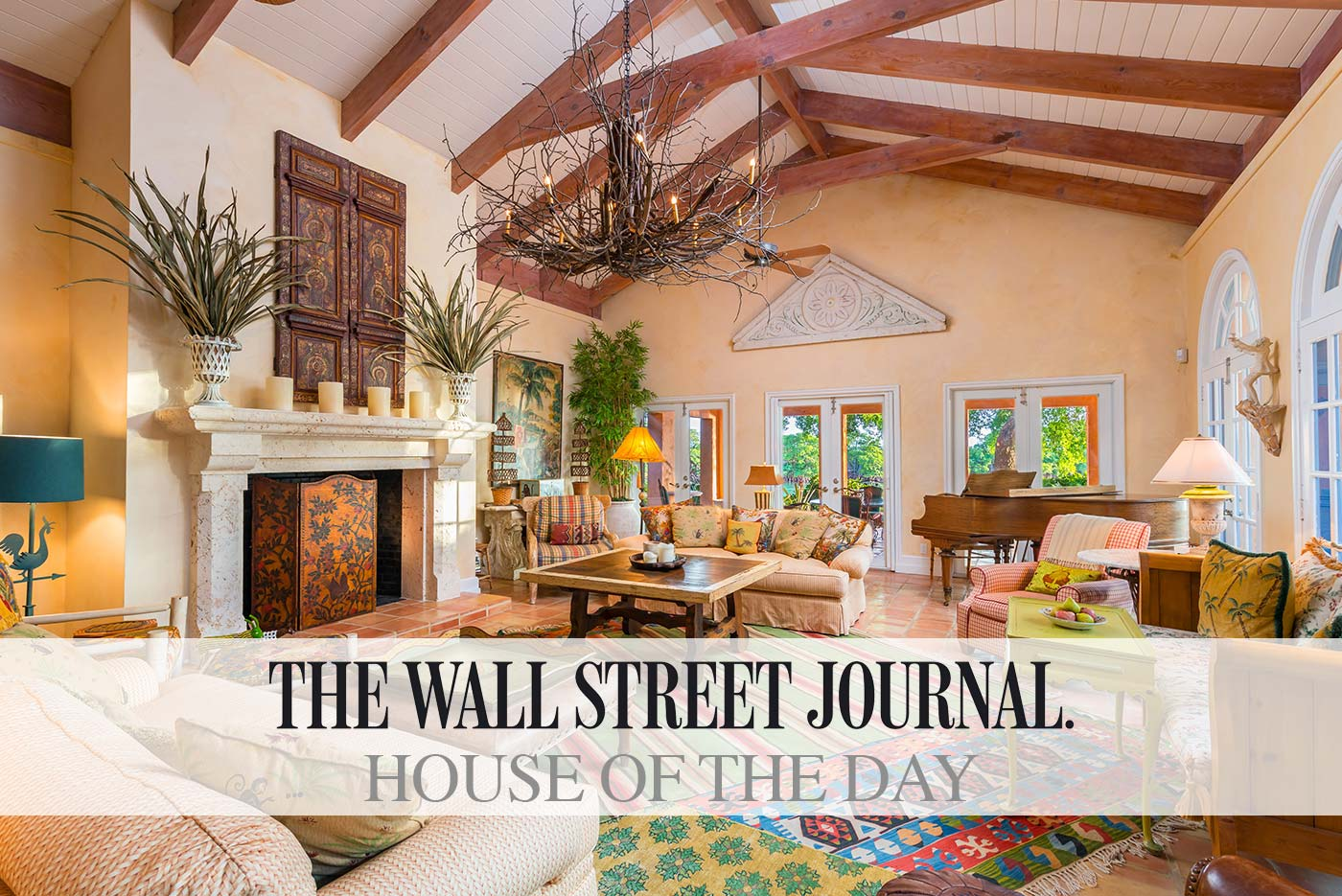 Wall street journal house of the day buena vista for Wall street journal mansion